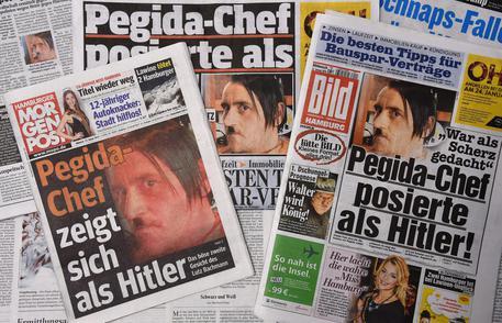 Hitler-picture of PEGIDA-head causes trouble